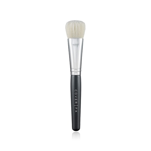 Closeup   cream foundation brush