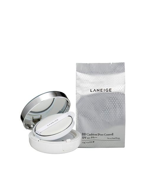 Laneige Bb Cushion [Pore Control] Spf50+ Pa+++   No.23 (Sand Beige)