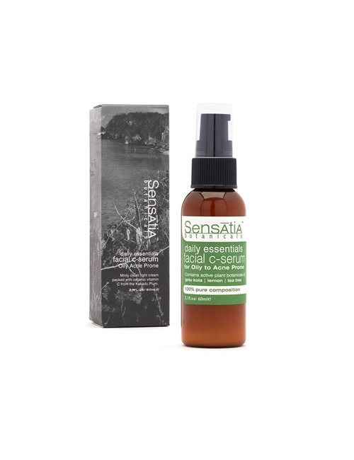 Sensatia Botanicals Facial C Serum Facial C-Serum Oily Acne Prone