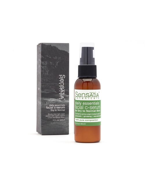 Sensatia Botanicals Facial C Serum Facial C-Serum Dry to Normal Skin