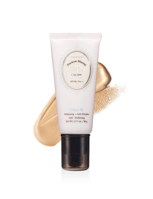 Closeup   precious mineral bb cream cotton fit w13