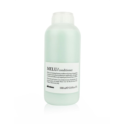 Closeup   davines italy melu conditioner for long or damaged hair 1000ml