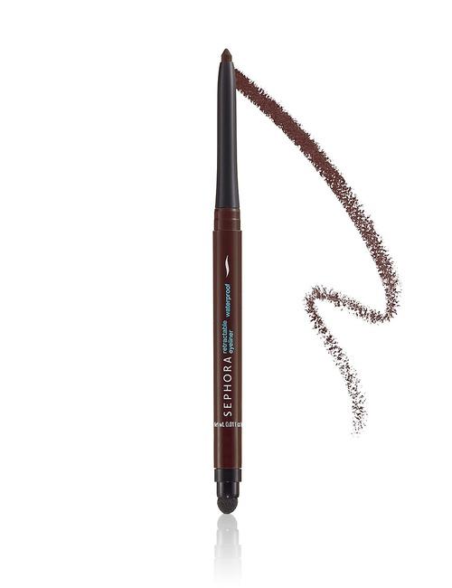 Sephora Collection Retract Waterproof Eyeliner 10 Matte Brown Black