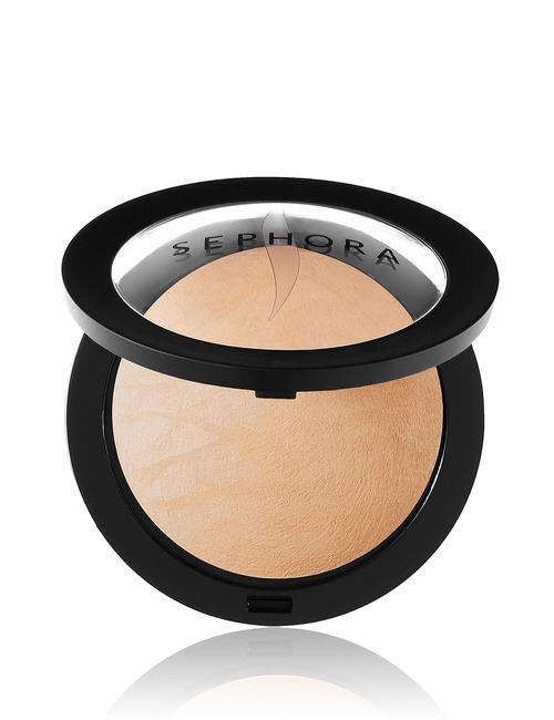 Sephora Collection Micro Smooth Baked Foundation Face Powder 25 Beige