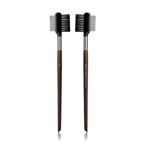 Closeup    276 eyelash comb and brush