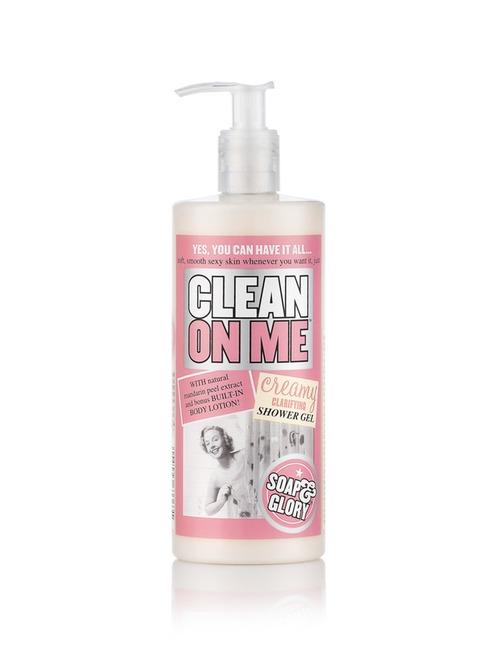 Soap & Glory Clean On Me Shower Gel