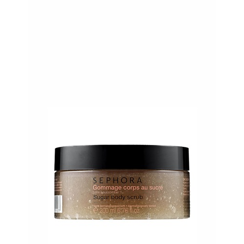 Closeup   sugar body scrub
