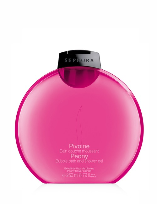 Sephora Collection Bubble Bath Shower Gel Peony