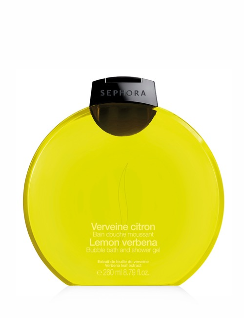 Sephora Collection Bubble Bath Shower Gel Lemon
