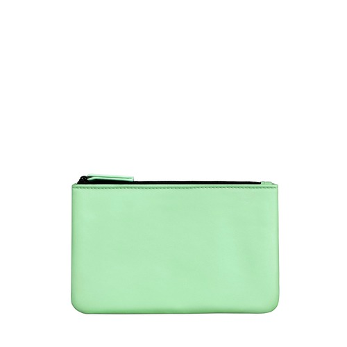 Closeup   10229 colorful pouch s green