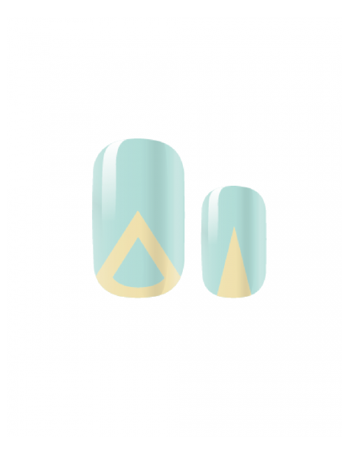 Closeup   mint on pointed